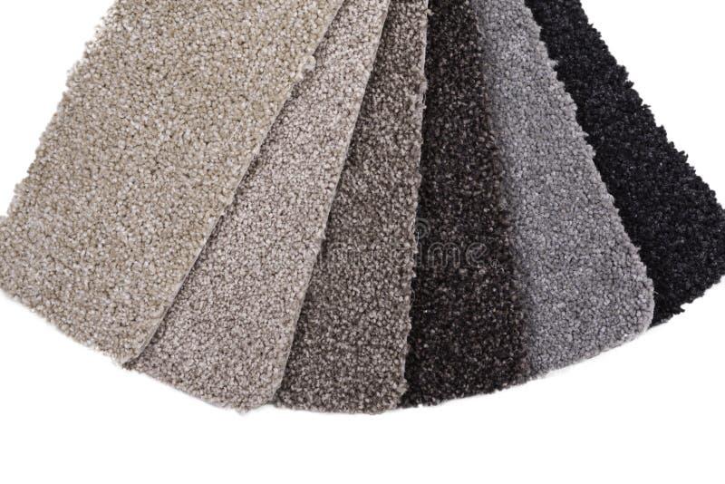 地毯样品 库存图片