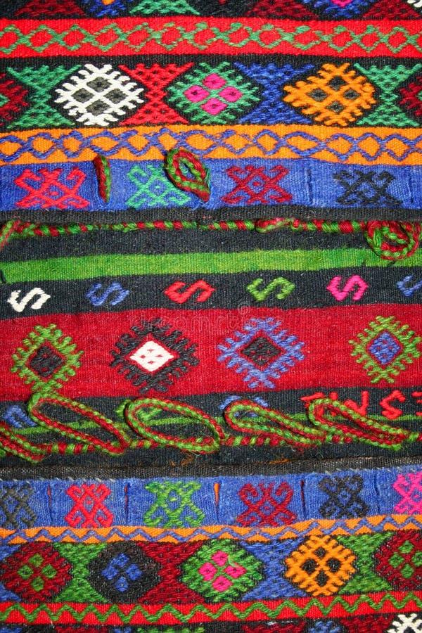 地毯模式土耳其 库存图片