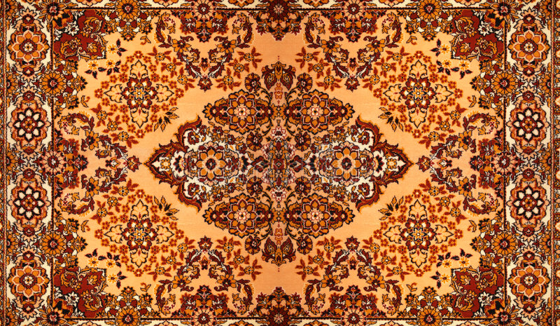 地毯模式 库存图片