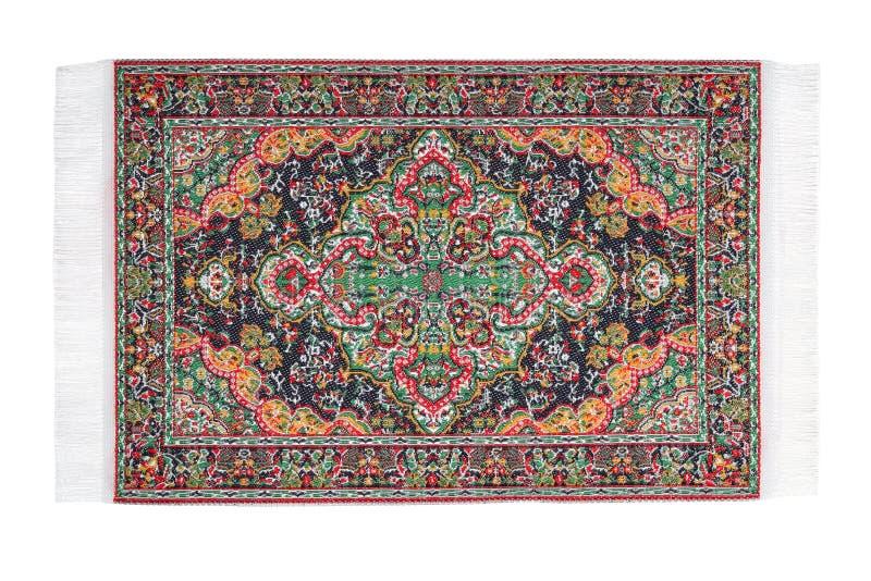 地毯水平地位于杂色的模式 免版税库存照片