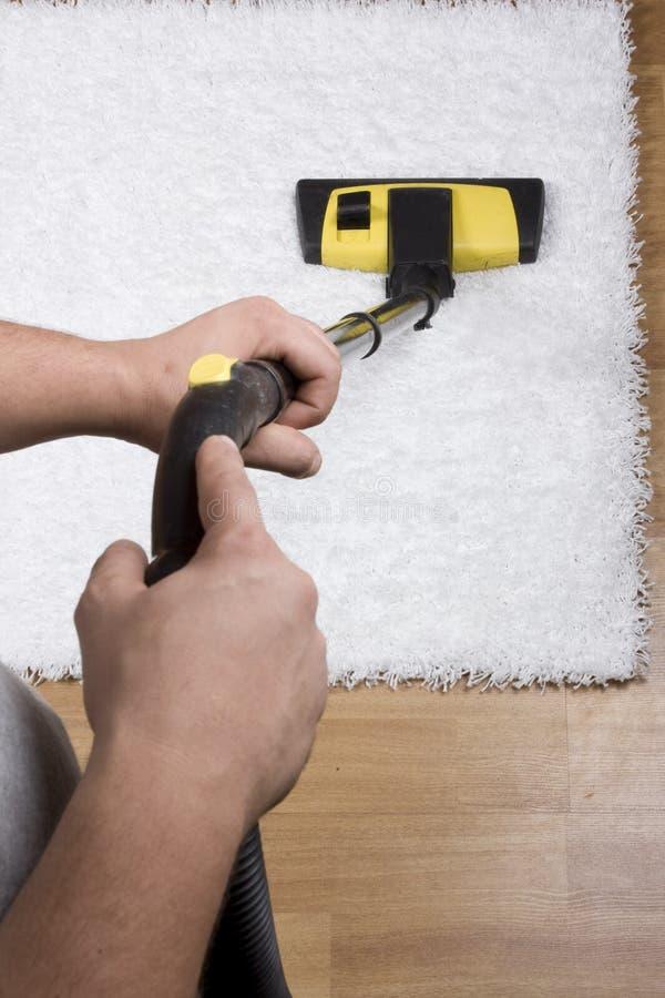 地毯清洁 库存图片
