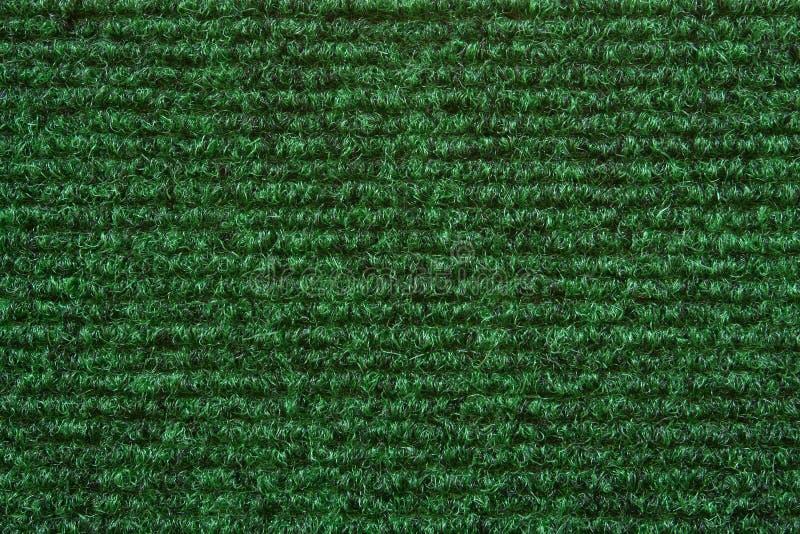 地毯绿色纹理 免版税库存照片