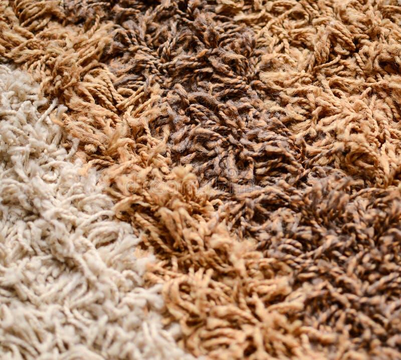 地毯背景特写镜头 图库摄影