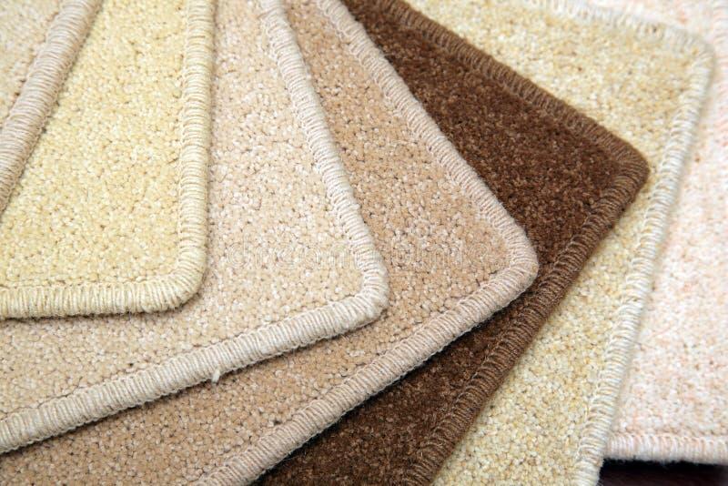地毯范例 免版税库存图片