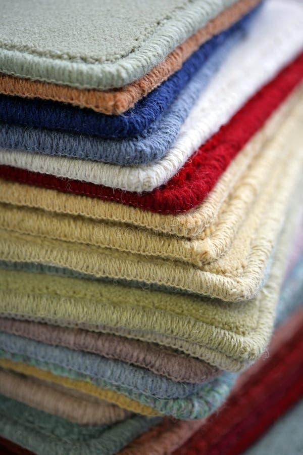 地毯范例 免版税库存照片