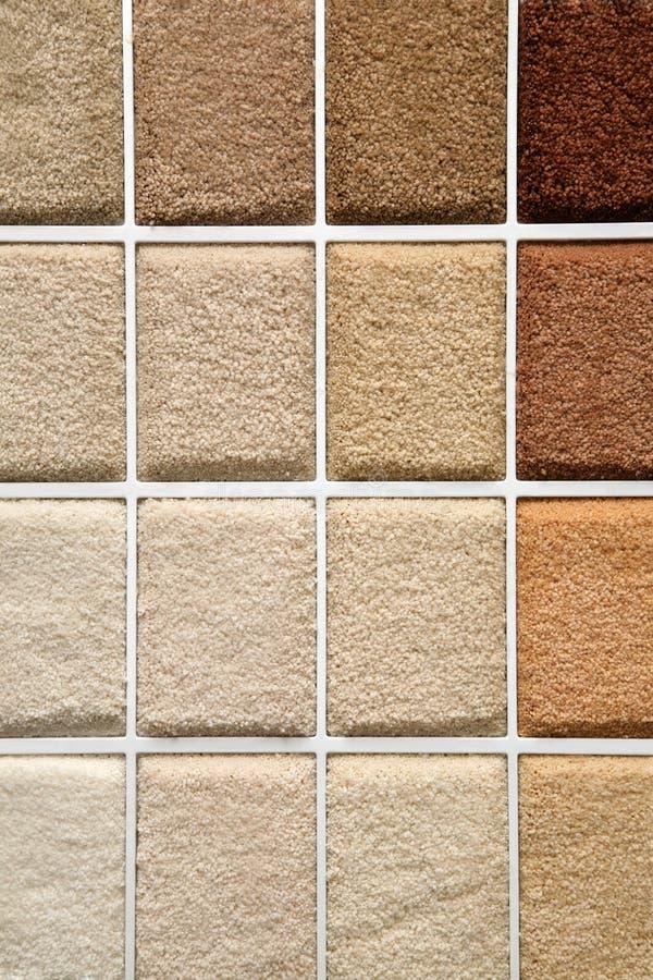 地毯范例 库存照片