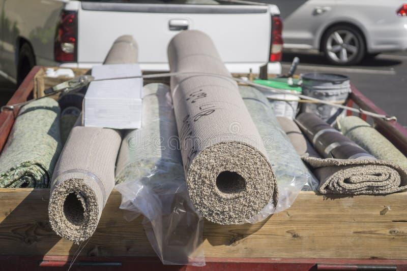 地毯设施 图库摄影