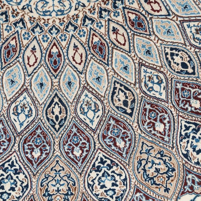 地毯详细资料 库存照片