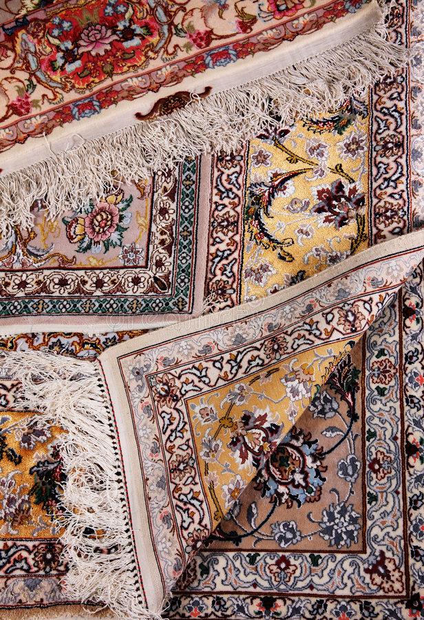 地毯详细资料 免版税库存照片