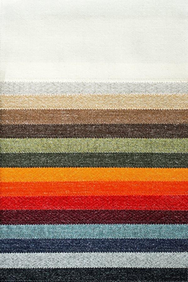 地毯调色板 库存照片