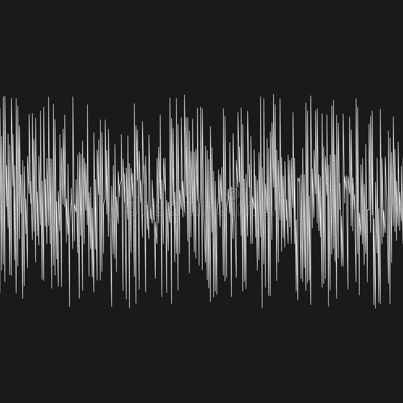 地波 向量例证