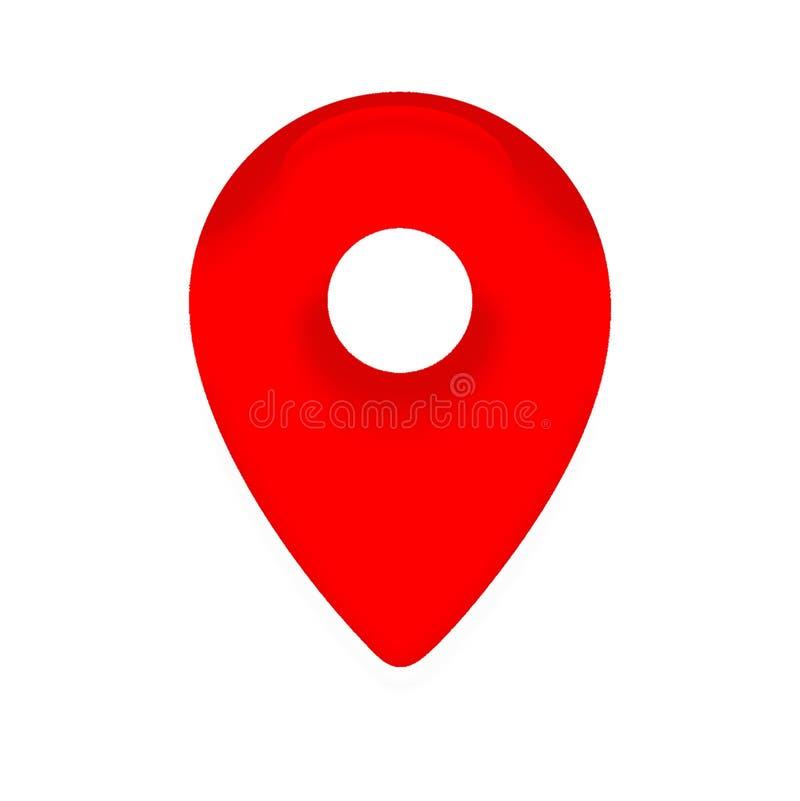 地点标志 库存图片