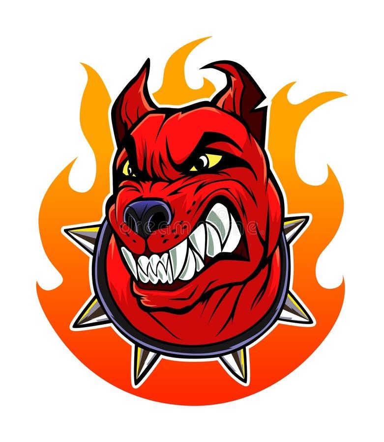 地狱狗 向量例证