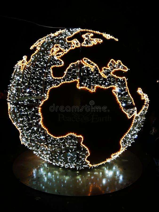 地球上的和平是可能的 库存图片