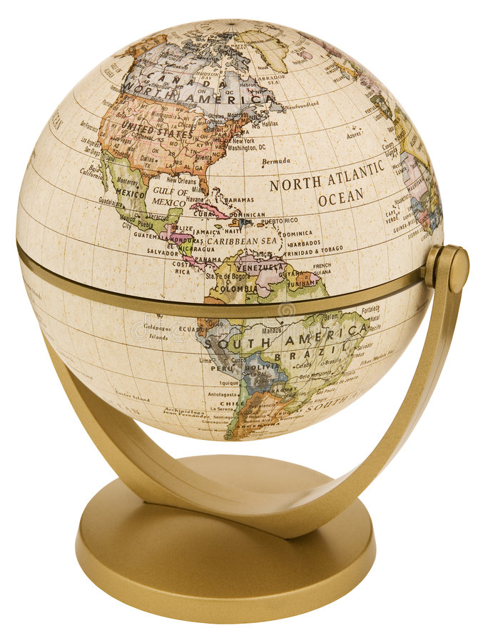 地球世界 库存照片