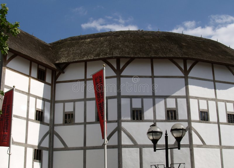 地球伦敦剧院 免版税库存图片