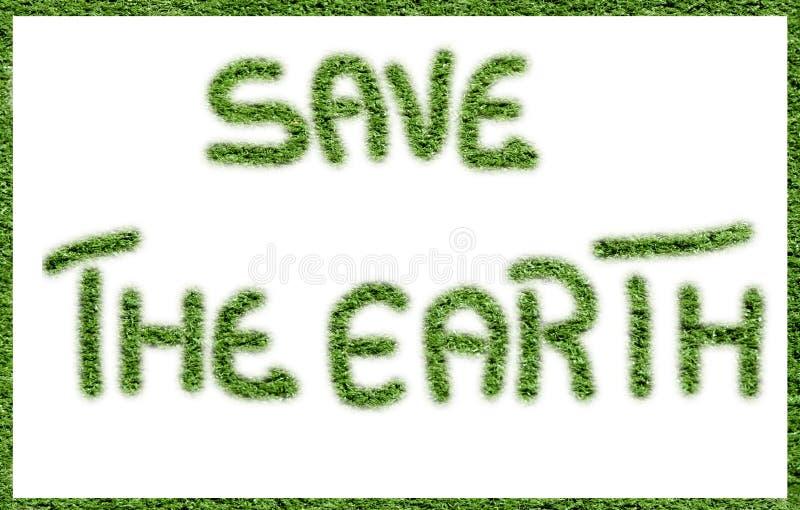 地球保存 库存图片