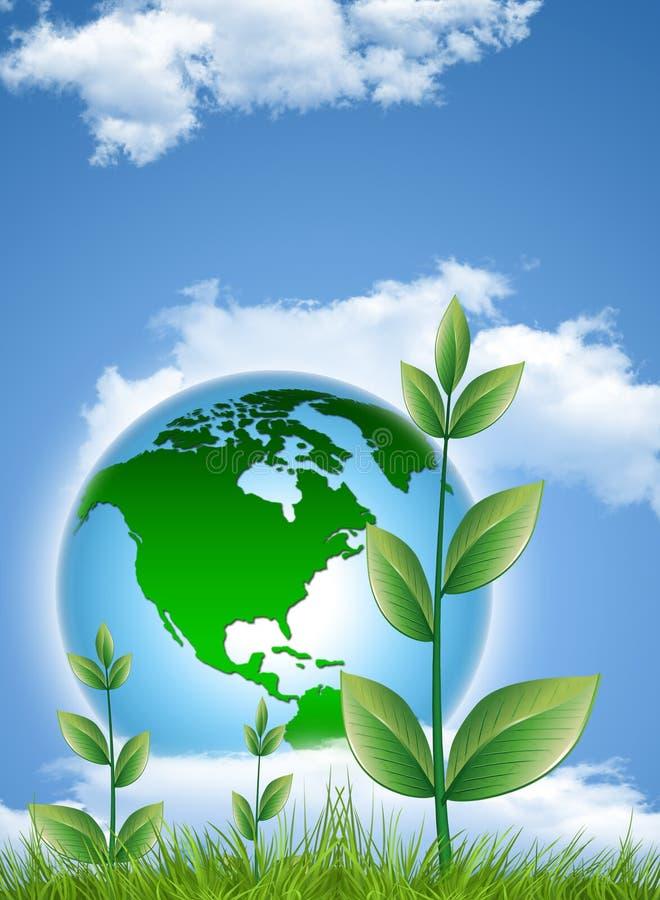 地球保护 皇族释放例证
