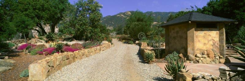 地球关心中心, Ojai,加利福尼亚 免版税库存图片