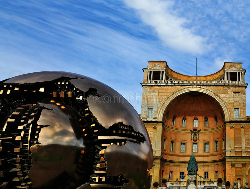 地球博物馆梵蒂冈 库存照片