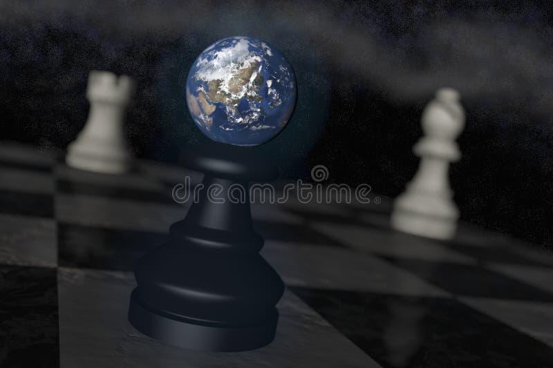 地球危险 向量例证