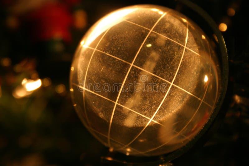 地球发光 免版税库存照片
