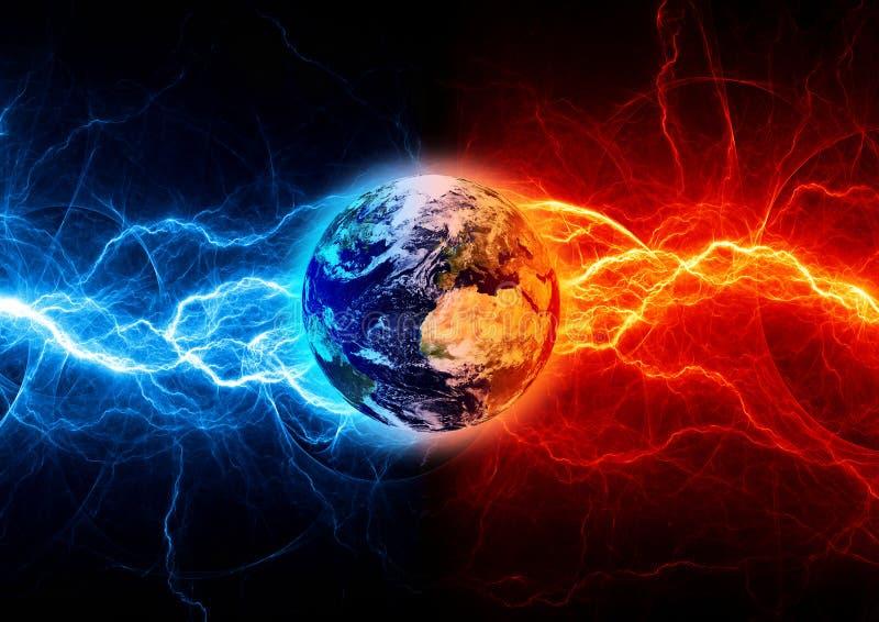 地球启示 向量例证