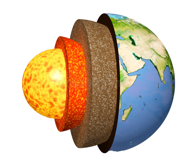 地球在结构白色的查出的设计 库存例证