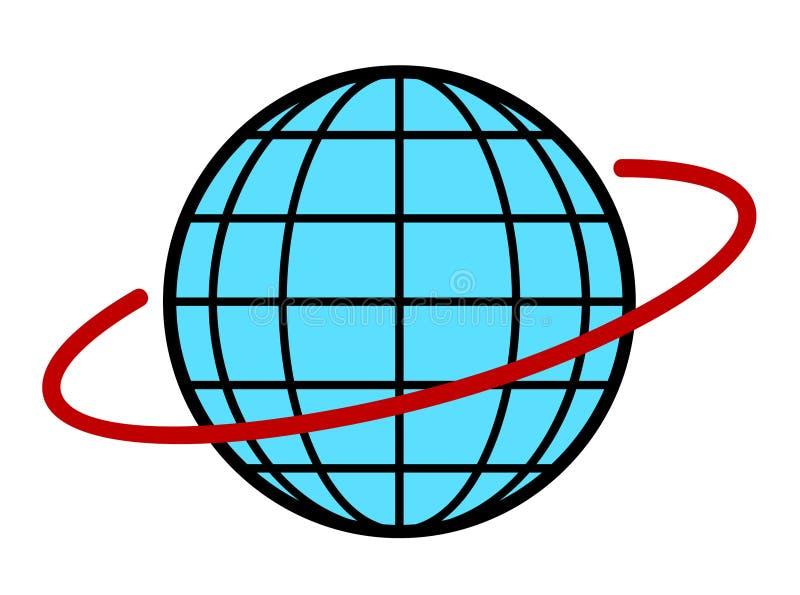 地球地球例证向量 皇族释放例证