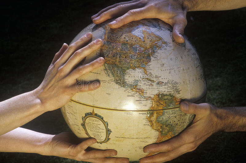 地球地球-保存地球 免版税库存图片