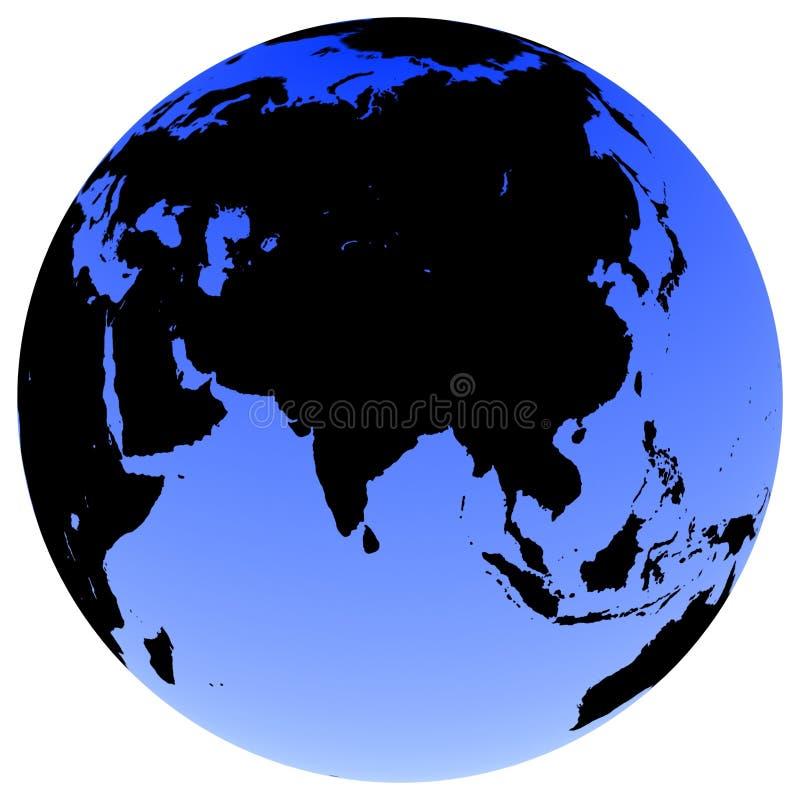 地球地球 向量例证