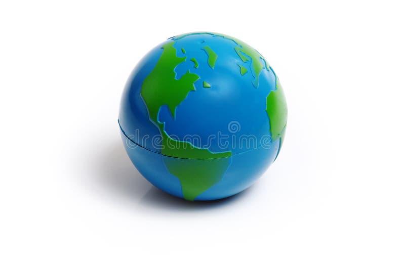 地球塑料 免版税库存照片