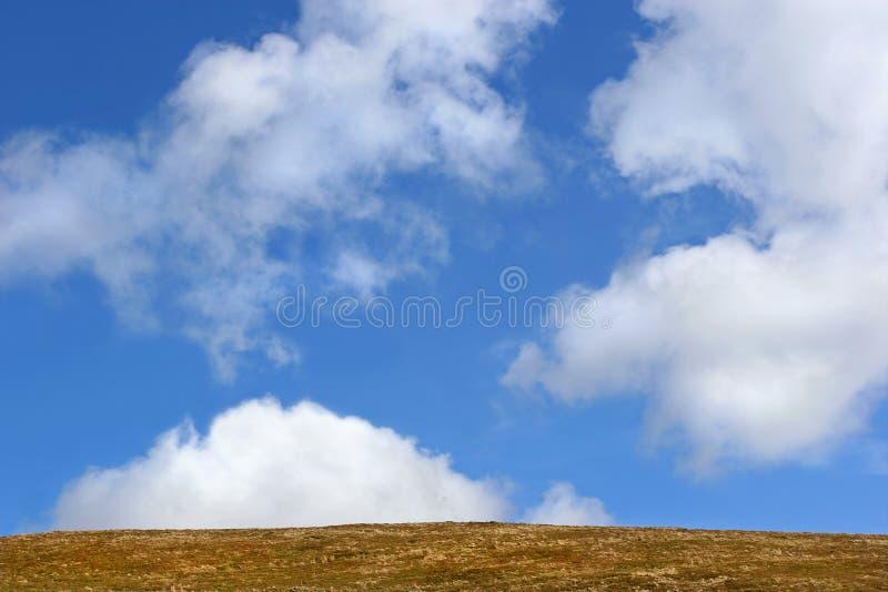 地球天空 库存照片