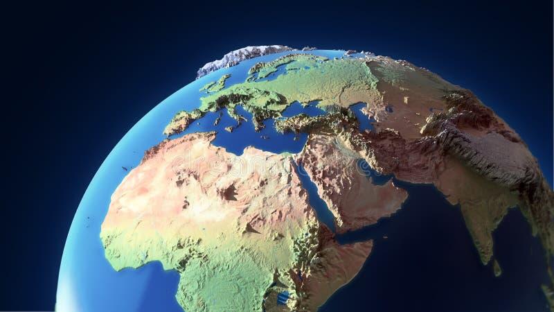 地球山 库存照片