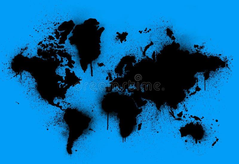 地球弄脏了 免版税库存图片