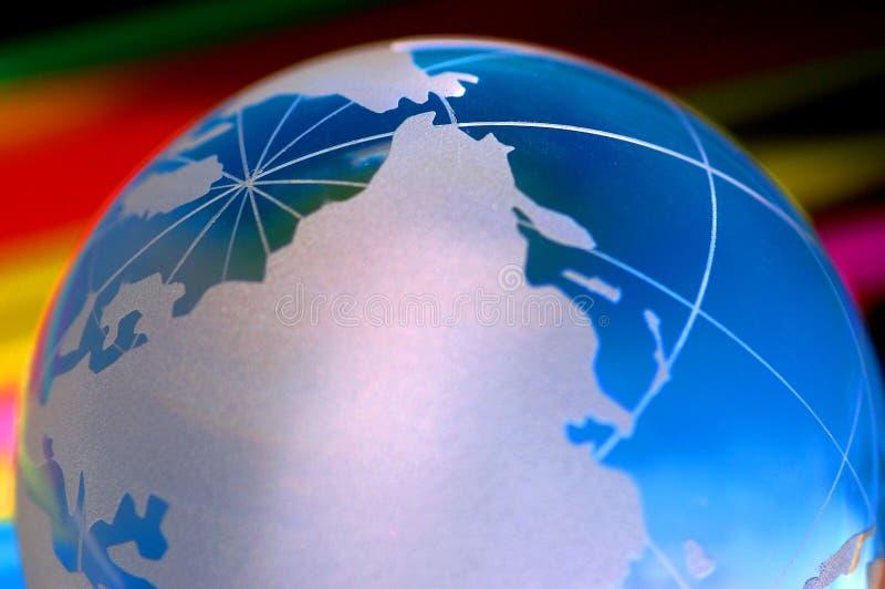 地球我世界 免版税图库摄影