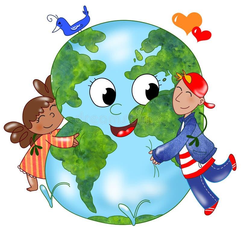 地球拥抱的孩子