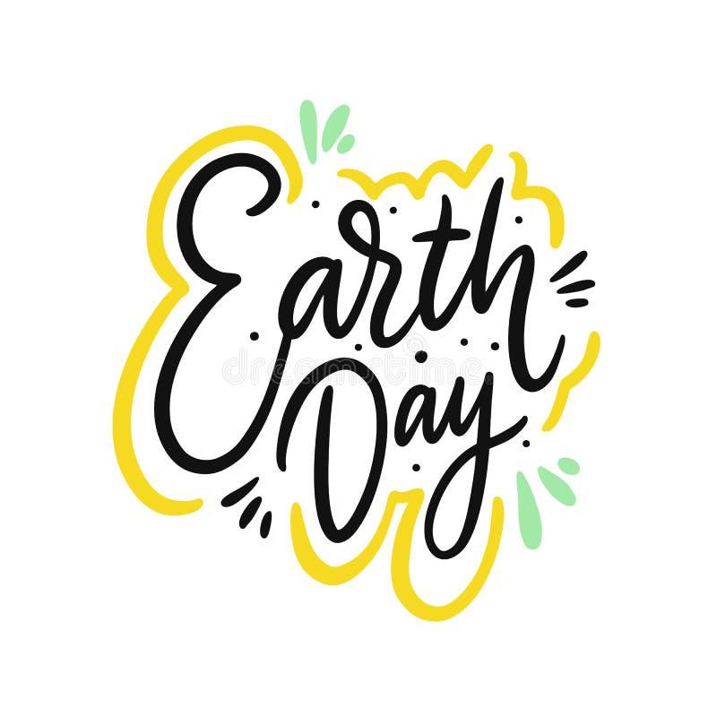 地球日唱歌 r r 皇族释放例证