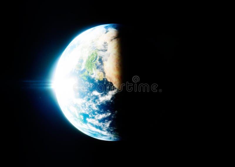 地球照片现实3d翻译  向量例证