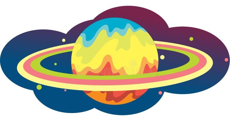 地球环形 库存例证