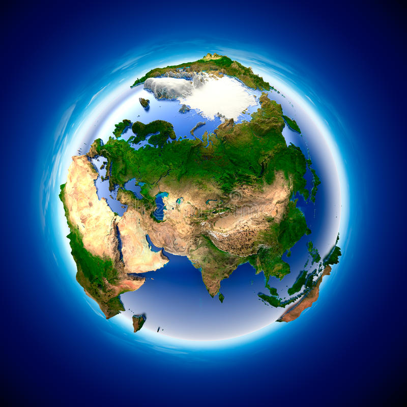 地球生态 库存例证