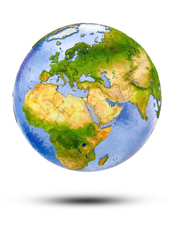 地球的以色列 皇族释放例证