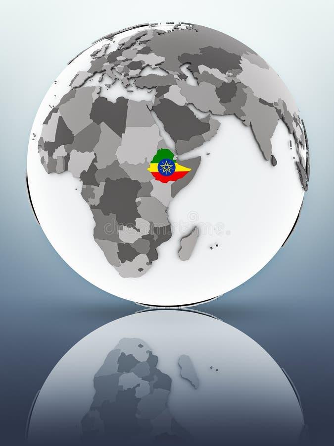 地球的埃塞俄比亚 皇族释放例证