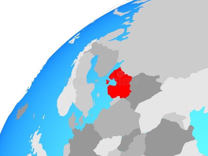 地球的波罗的海国家 皇族释放例证
