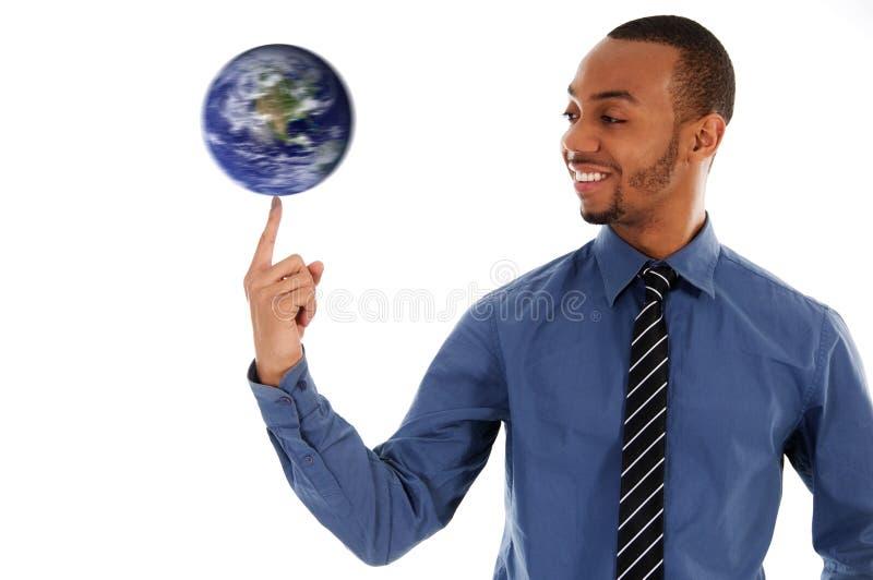 地球空转 库存图片