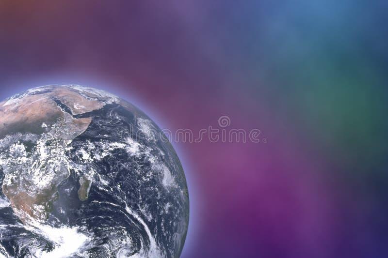 地球空间 向量例证
