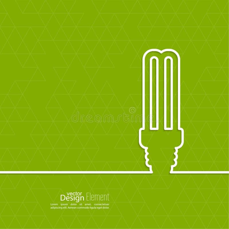 地球能源闪亮指示保存节省额 皇族释放例证