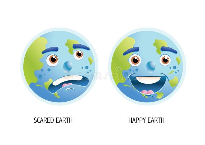 地球行星 皇族释放例证