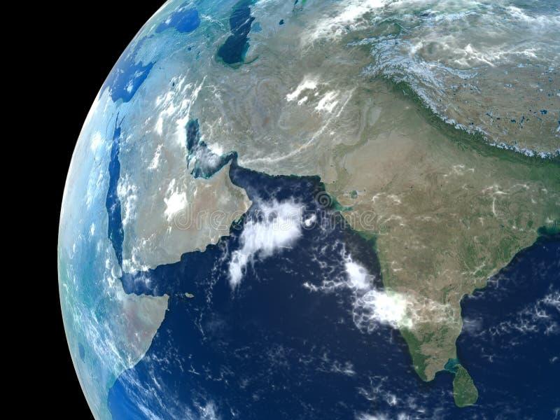 地球行星 向量例证