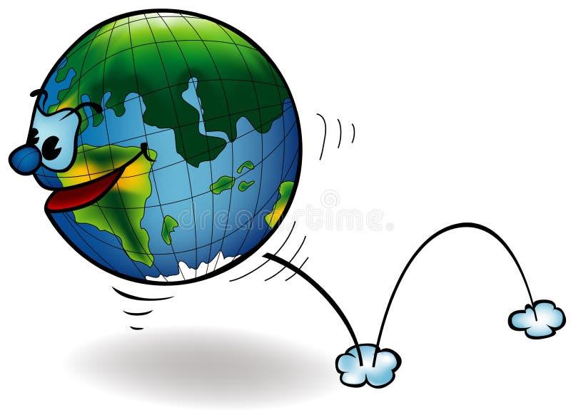 地球表面 向量例证